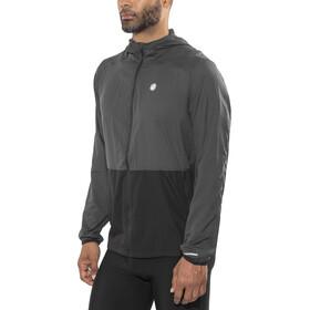 asics Packable Jacket Men Dark Grey/Performance Black